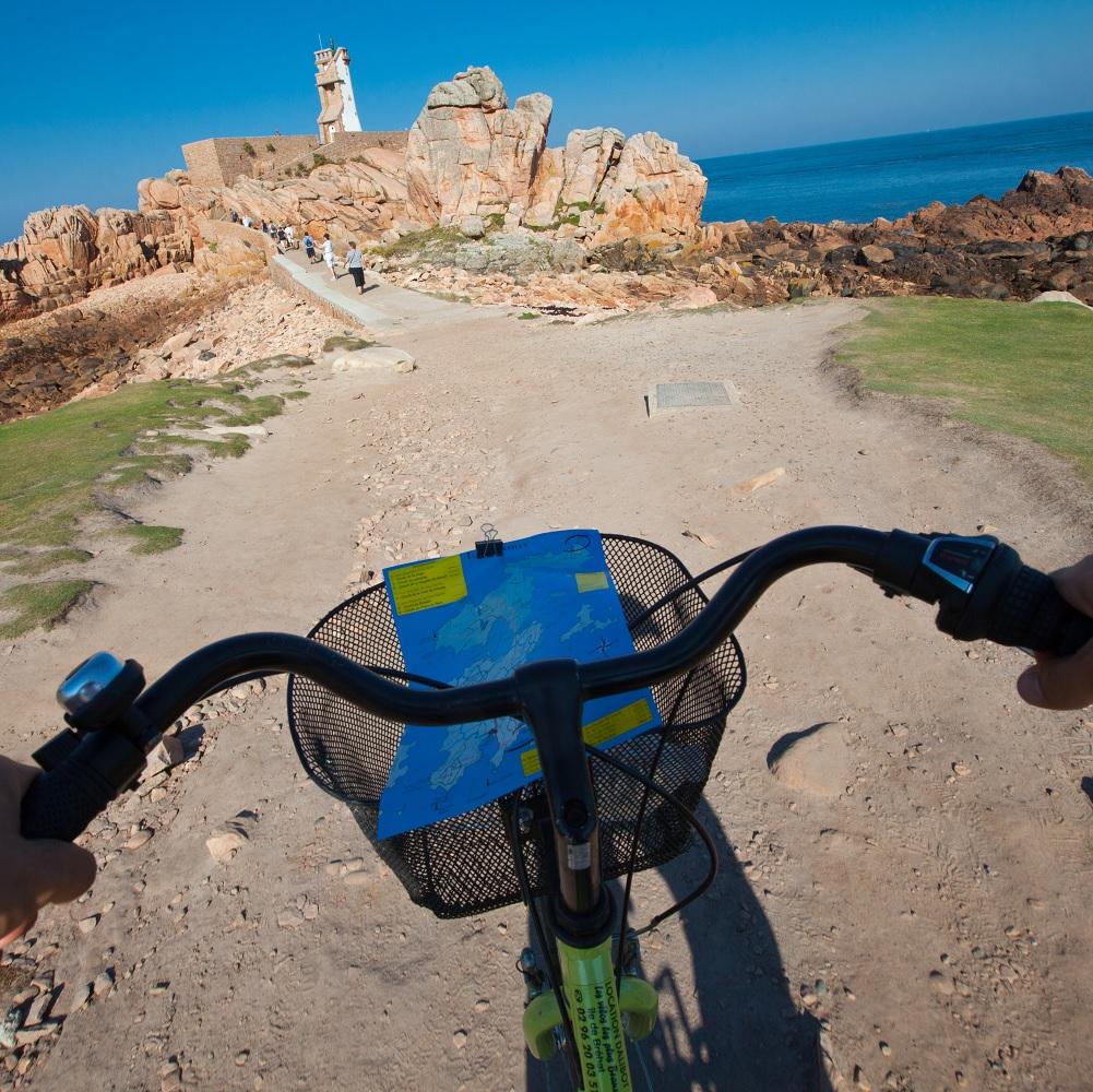 Balade sur l'île de Brehat à vélo